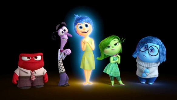 The characters of Pixar's INSIDE OUT