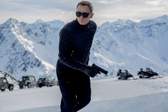 Daniel Craig in the movie SPECTRE