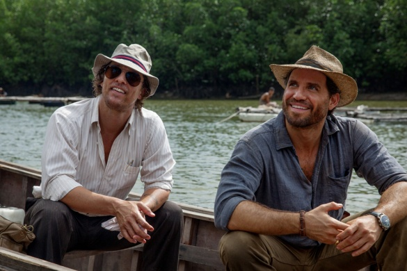 Matthew McConaughey and Edgar Ramirez in GOLD