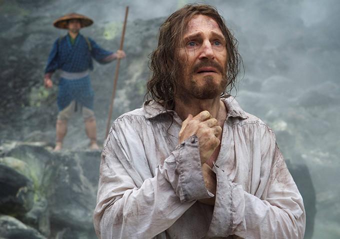Liam Neeson in Martin Scorsese's SILENCE