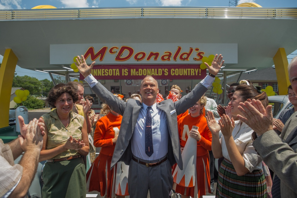 Michael Keaton as Ray Kroc in THE FOUNDER