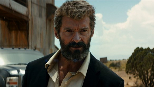 Hugh Jackman in his final turn as Wolverine in LOGAN.