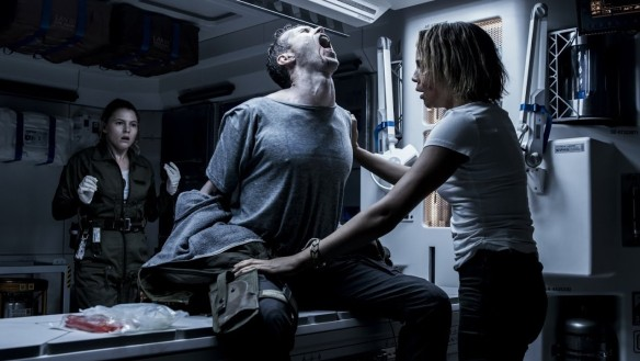 Something really gross is about to happen in ALIEN: COVENANT.