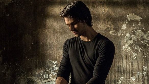 Dylan O'Brien doing god knows what in AMERICAN ASSASSIN.