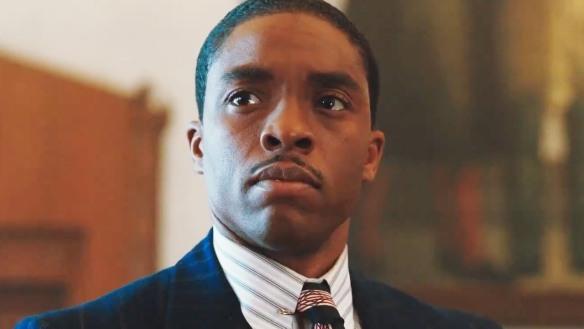 Chadwick Boseman in MARSHALL.