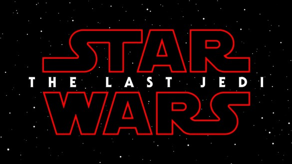 The STAR WARS LAST JEDI logo