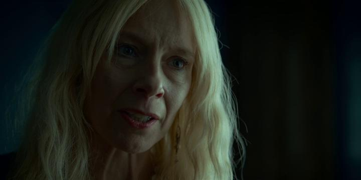 Amy Ryan looks angry in the movie LOST GIRLS.