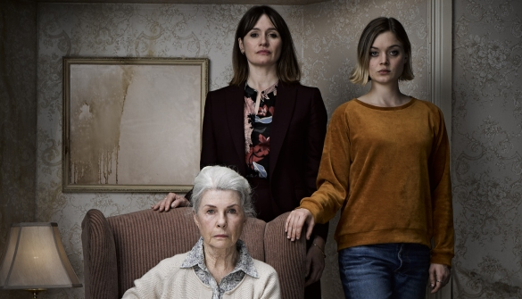 Emily Mortimer, Bella Heathcote, and Robyn Nevin in RELIC