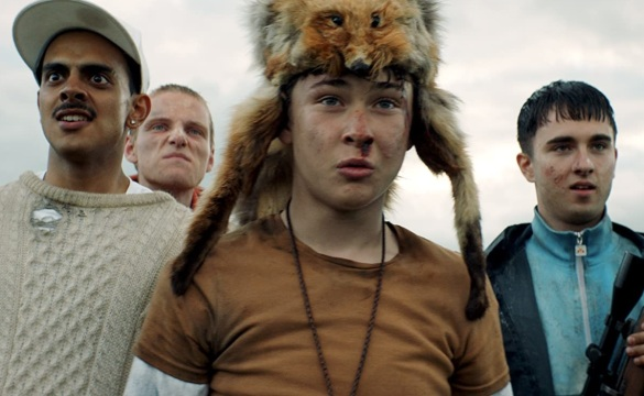 Four teen boys in the film Get Duked