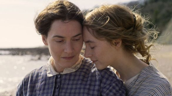 Kate Winslet and Saoirse Ronan in Ammonite