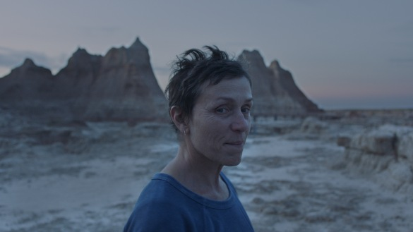 Frances McDormand in Chloé Zhao's NOMADLAND