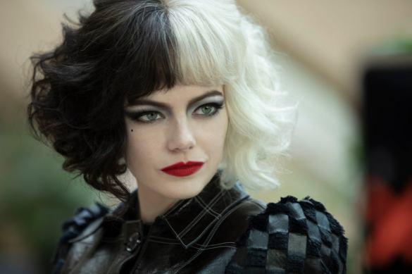 Emma Stone as Disney villain Cruella de Vil in film CRUELLA